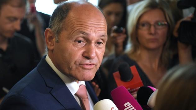 Innenminister Wolfgang Sobotka
