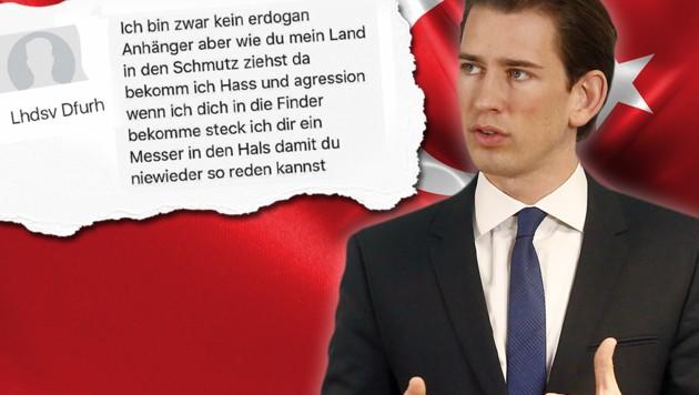 (Bild: facebook.com, thinkstockphotos.de, APA/APA/AUSSENMINISTERIUM/DRA)