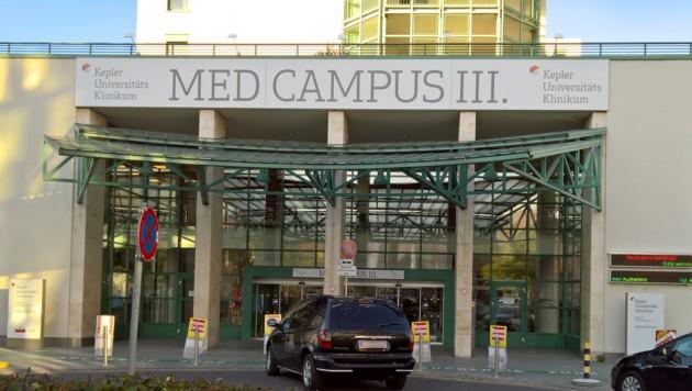 Der Med Campus III der Linzer Uniklinik (Bild: APA/Heinz Ziegler)