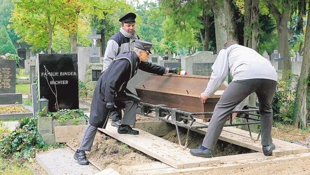 """Die Zahl der """"Armenbegräbnisse"""" steigt jedes Jahr leicht an. (Bild: Gerhard Bartel)"""