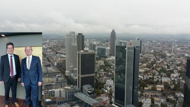 Klaus Wohlfart und Hubert Einetter haben es in Frankfurt geschafft (Bild: Kerstin Wassermann)