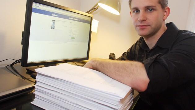 Datenschutzaktivist Max Schrems