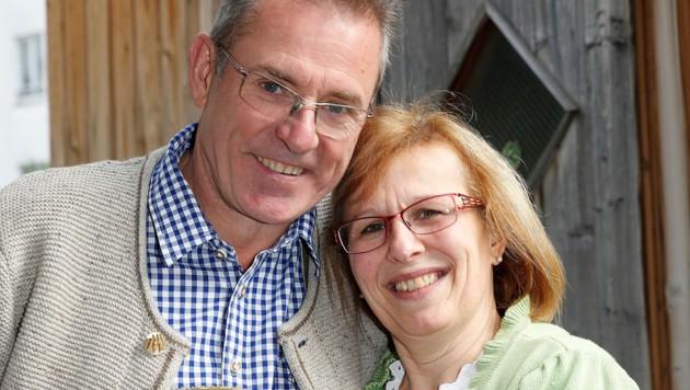 Seit 2009 ein Paar: Ulrike und ihr Lebensgefährte Rupert