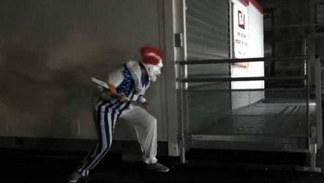 (Bild: facebook.com/Contre les Clowns du Nord et Sud (Symbolbild))