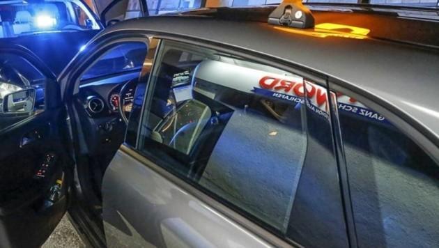 Der Wagen des 68-Jährigen (Bild: Markus Tschepp)