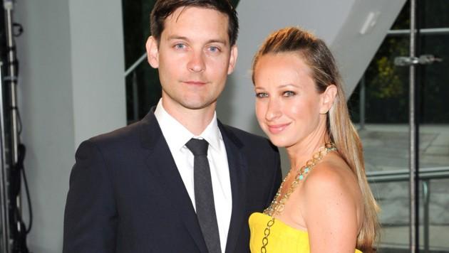 Tobey Maguire und Ehefrau Jennifer Meyer haben sich getrennt. (Bild: Evan Agostini/Invision/AP)