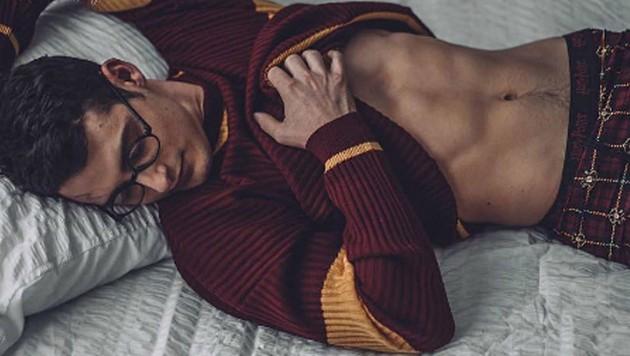 """Sexy """"Harry Potter""""-Fotos sorgen auf Instagram für Furore. (Bild: instagram.com/sarahhesterphotography/)"""