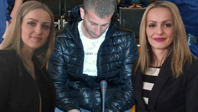 Lebenslang lautet das Urteil gegen den 34-Jährigen, der seine Ehefrau und deren Schwester erstach. (Bild: Heinz Weeber)