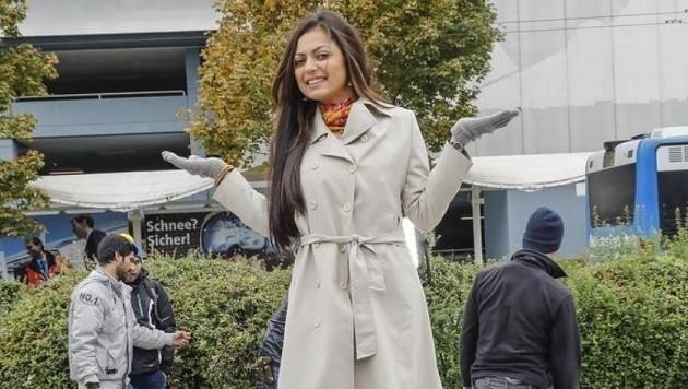 Drashti Dhami aus Mumbai ist in ihrer Heimat ein Superstar. (Bild: Markus Tschepp)