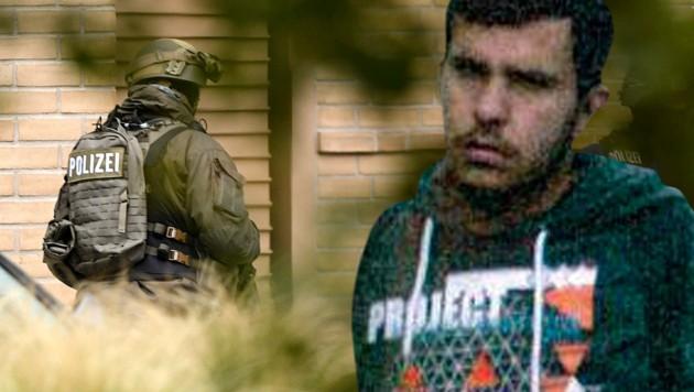 Die Landsmänner von Jaber al-Bakr erwiesen sich als nicht bestechlich und meldeten ihn der Polizei. (Bild: ASSOCIATED PRESS, APA/Polizei Sachsen/Christian Zander)