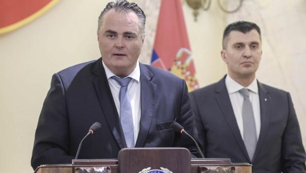 Verteidigungsminister Doskozil während seines Besuchs in Serbien (Bild: APA/BUNDESHEER/PUSCH)