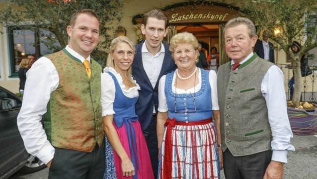 Sebastian Kurz Familie