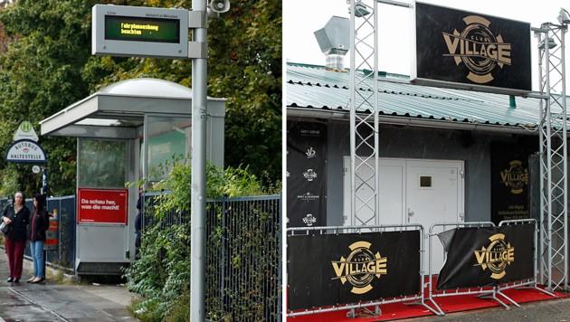 Nach einem Besuch im Club Village wurde die 22-Jährige bei einer Bushaltestelle vom Auto erfasst.