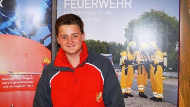 """Patrik Goldberger (13) rettete eine Frau. (Bild: """"Krone"""")"""