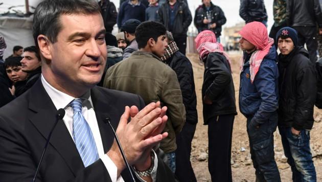 Bayern will Asylwerber jetzt selbst abschieben