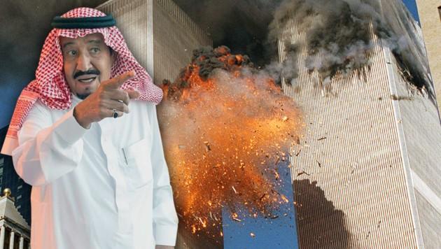 Saudi-König Salman bin Abdulaziz (li.): Droht seinem Wüstenstaat nun eine Flut an Klagen?