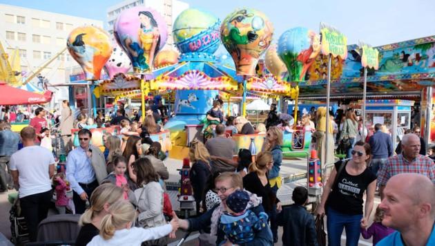 Der Ansturm auf den Jahrmarkt wird wieder jedes Jahr groß sein (Bild: Horst Einöder)