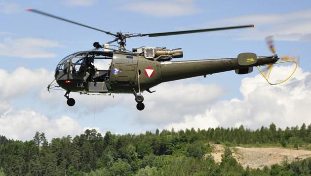 Alouette III des Bundesheeres (Bild: Picasa)