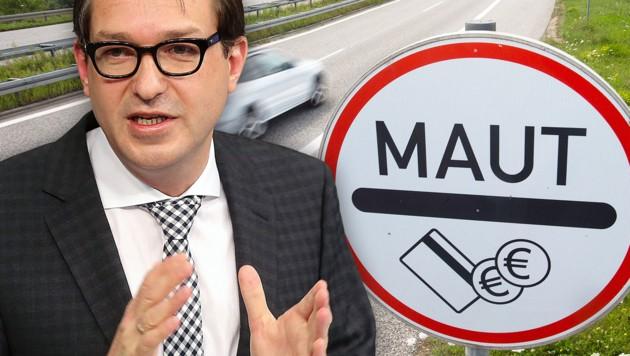 Der deutsche Verkehrsminister Dobrindt ist optimistisch. (Bild: APA/dpa/Jens Büttner, EPA/WolfgangKumm)