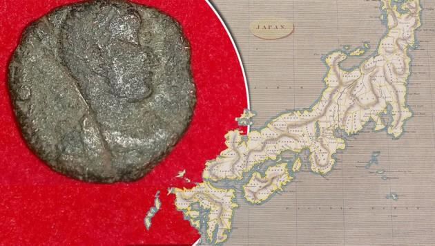 Münzen Aus Dem Römischen Reich In Japan Entdeckt Kroneat