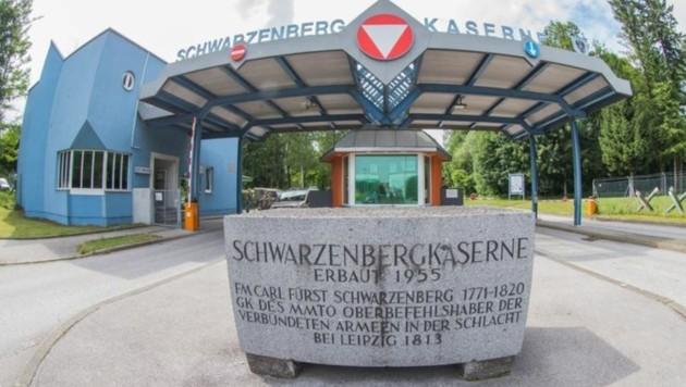Bereits acht Soldaten haben sind infiziert (Bild: Franz Neumayr/MMV)