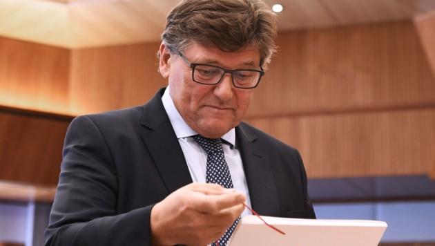 Pro-Ge-Chef Rainer Wimmer (Bild: APA/Robert Jäger)