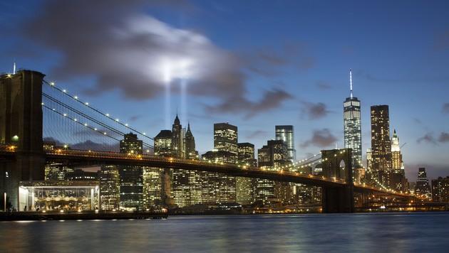Die berühmte Skyline von New York (Bild: AP)