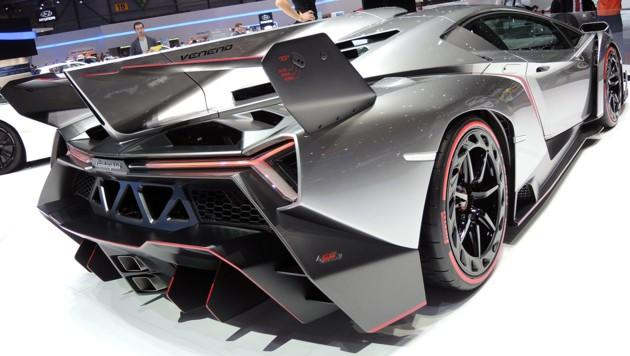 Zwei Der Drei Lamborghini Veneno Sind Zu Haben Krone At