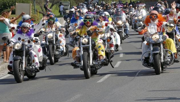 Bild von der Bike Week 2016 (Bild: APA/GERT EGGENBERGER)