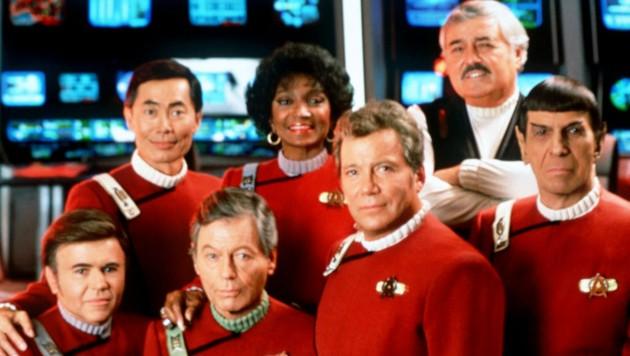 """Die legendäre Crew der """"Enterprise"""" im Film """"Star Trek VI"""""""