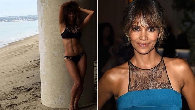 Halle Berry macht ihre Fans mit diesem sexy Bikini-Foto neidisch.