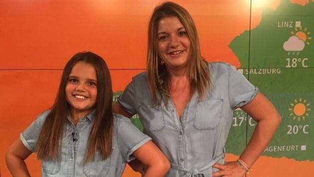 Sonnige Aussichten: Verena Schneider mit Emily