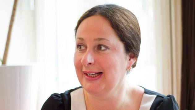 Jacqueline Sudnischnikowa von der Unternehmensberatung Servithink (Bild: Sandra Trauner)
