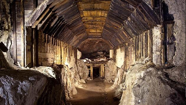 Auch in diesem Tunnel wurde nach dem Goldzug gesucht.
