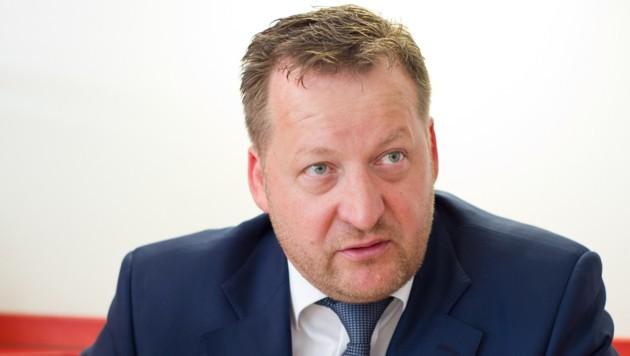 Klaus Lercher, aus der Trenkwalder-Geschäftsführung