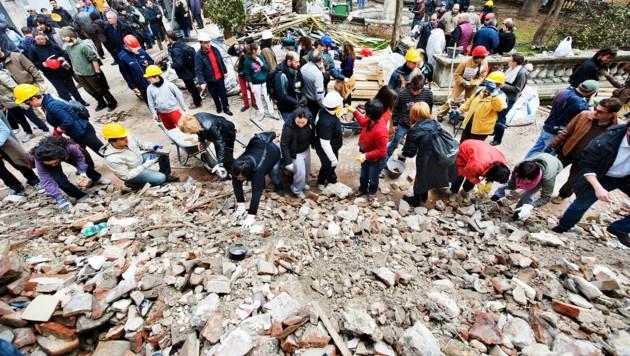 2009 kamen in L'Aquila mehr als 300 Menschen ums Leben.