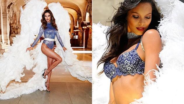 Die Model-Engel tragen wieder ihre Flügel.
