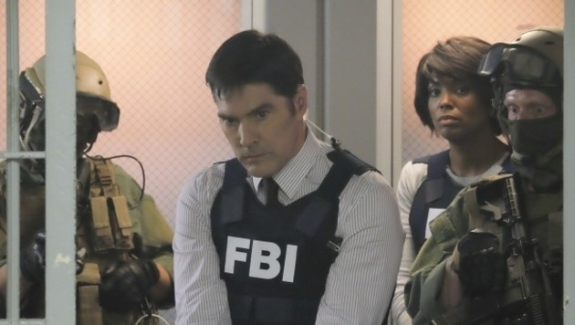 """Thomas Gibson als Aaron """"Hotch"""" Hotchner in """"Criminal Minds"""""""