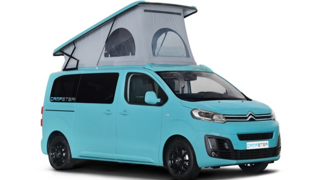 Pössl Campster auf Citroen-Spacetourer-Basis