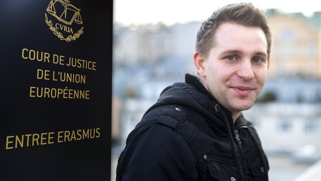 """Facebook-Rebell"" Max Schrems"