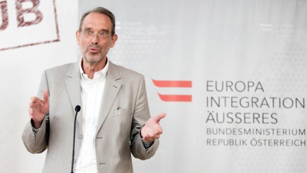 Der Vorsitzende des Expertenrats für Integration, Heinz Faßmann