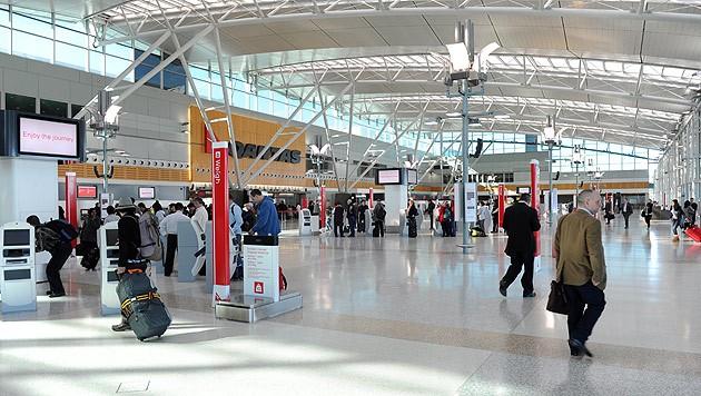 Der Flughafen von Sydney