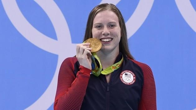 Lilly King (Bild: AFP)