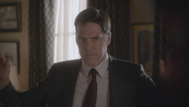 """Thomas Gibson in """"Criminal Minds"""""""