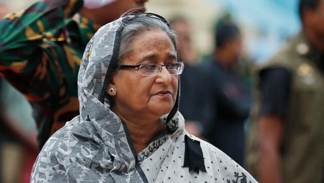 Bangladeschs Ministerpräsidentin Sheikh Hasina