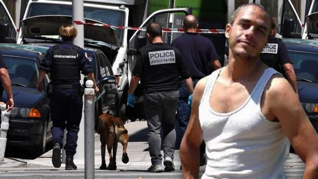 Der Mörder von Nizza (Bild: AFP/ANNE-CHRISTINE POUJOULAT, Maxppp)