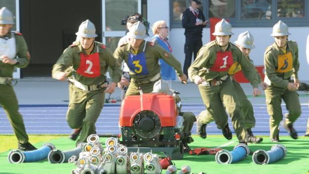 2012 fand der bisher letzte Bundesfeuerwehrleistungsbewerb in Linz statt. (Bild: LFKDO OÖ)