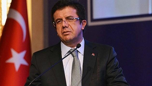 Der türkische Wirtschaftsminister Nihat Zeybeki