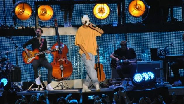 Rapper Cro begeisterte seine Fans bei der MTV Unplugged Tour (Bild: Clara Milena Steiner)