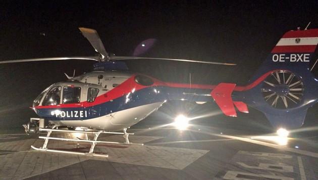 Ein deutscher Wanderer verursachte einen nächtlichen Hubschraubereinsatz. (Bild: BMI)
